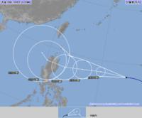 猛烈な台風26号(イートゥー)沖縄は風が強まり、海はしける