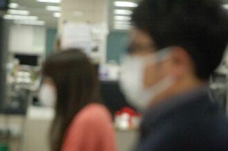 医療機関ではマスク確保が課題に(資料写真)