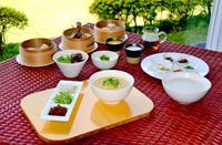 台湾朝食 健康志向の優しい味 東南植物楽園で土日・祝日限定