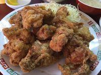 今日もガッツリ!運転手メシ(296)那覇市古波蔵の竜丹でチキン唐揚げを食べたの巻