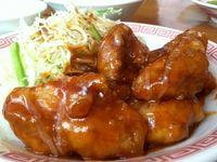 那覇市の中華食堂天天でピリ辛チキン南蛮を食べたの巻 運転手メシ(229)