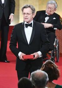 バリシニコフさんらが受賞 第29回世界文化賞授賞式