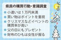 沖縄県民「買い物は堅実」 お小遣い1万円未満が3割、ポイントしっかり貯めます