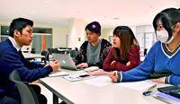 基地の是非 足運び熟慮/学生有志 普天間ツアー企画/「対話の場づくりが重要」