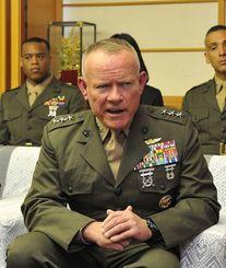 ローレンス・ニコルソン在日米軍沖縄地域調整官