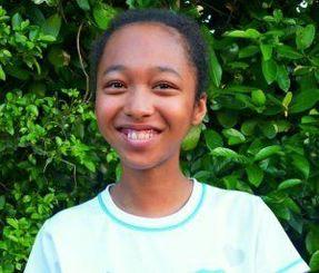 ガーナの子の支援を計画している谷口蒼美菜さん