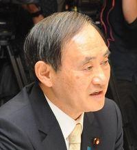 辺野古反対の民意「オール沖縄ではない」 宜野湾市長選受け菅氏