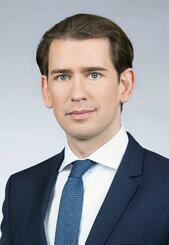 オーストリアのクルツ首相(BKA/Jakob Glaser提供・共同)