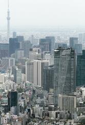 東京都内の空撮
