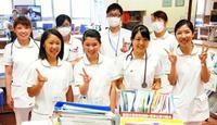 沖縄の離島から、看護師の夢へ第一歩 久米島の高校生が実習