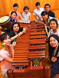 打楽器の共鳴味わって/マリンヴィスタ 31日浦添で初公演