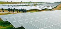 いちごECOの太陽光「二見発電所」完成