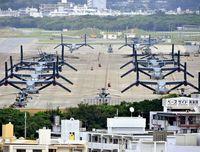 沖縄・基地白書(29)「最近は23時過ぎても訓練ある」夜の静寂を破る飛行 形骸化する負担軽減