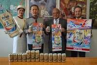 野球、サッカー、陸上、テニス…スポーツの春を表現 オリオンビールの新デザイン缶発売