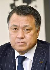 日本サッカー協会(JFA)の田嶋幸三会長