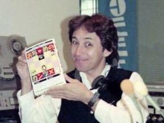 ラジオパーソナリティー時代の玉城デニーさん=1996年1月