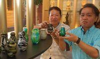 琉球ガラスのミニ骨壺 手元供養に販売開始