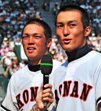 「沖縄県民みんなで勝ち取った優勝です」 興南元主将の我如古、つながる思いを実感