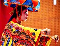 【写真特集】北部の芸、華やかに やんばるの豊年祭