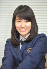 沖縄尚学高校3年の山田珠妃さん