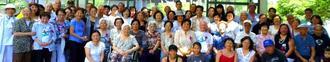 多くの人々が集まったうるま市民会の忘年会=アルゼンチン