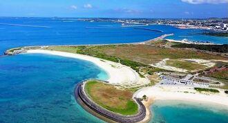 「ヒルトン沖縄宮古島リゾート」の建設予定地=宮古島市のトゥリバー地区(三菱地所提供)