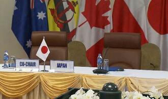 ベトナム・ダナンで開かれる予定だったTPP首脳会合の会場=10日(代表撮影・共同)