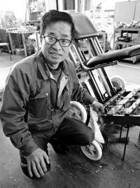 [時の人]/特注車いす製作 ベトナムへ進出/谷島昇さん/震災から再起 新興国に力