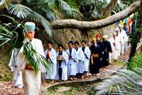 豊穣願い、国頭から首里城へ 琉球王国時代の「お水取り」再現