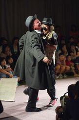 キジムナーフェスタ時代から好評で、今回も上演される「小さな紳士」(主催者提供)