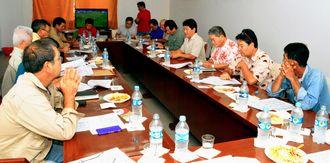 ボリビア移民110周年の準備委員会発足会議が開かれた=オキナワ第1移住地