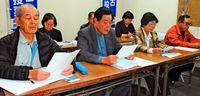 県民投票実施 各地で要請・表明相次ぐ/3択案は「目的逸脱」/連絡会沖縄支部
