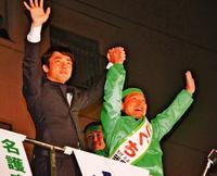 SNSで広がった「小泉進次郎再び!」 自公維の新枠組み、知事選へ手応え
