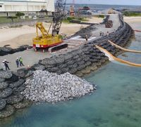 辺野古新基地:工事順調をアピールも、沖縄県は冷ややか 「演出に乗らぬ」