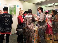 ユネスコで泡盛PR にぎわう沖縄ブース 「日本へのクリエイティブな旅」展