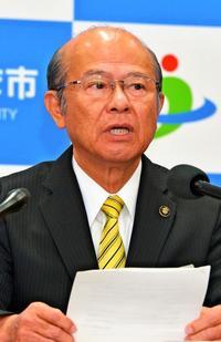 「県の努力を期待している」沖縄県民投票、うるま市長一問一答