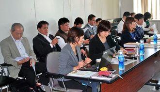 地域イメージ向上・確立支援事業の報告会に参加した地域団体などの代表者ら=24日、県庁