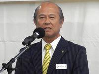 「市民と共に自立発展」現職の島袋俊夫氏が出馬表明 うるま市長選