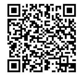 アプリ「ポリポリ」がダウンロードできるページにつながるQRコード