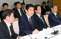 東京五輪後見据え財政出動 政府の「骨太方針」案
