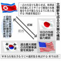 北朝鮮情勢、新たな段階 トランプ政権の「軍事オプション」焦点に【深掘り】