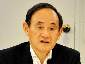 菅義偉官房長官(2015年10月)