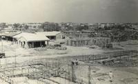 基地建設の写真171枚発見 嘉手納1951~52年 接収した土地に米軍住宅