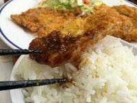 浦添市のとん吉食堂でトンカツ定食を食べたの巻 運転手メシ(223)