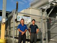 沖縄県内の廃食油で発電、12月から新電力に売電 来年にも規模拡大へ