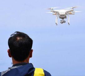 (資料写真)小型無人機