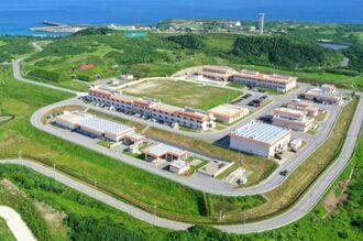 A Self-Defense Forces base on Yonaguni island in Okinawa Prefecture in June 2019