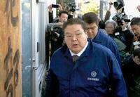 八角理事長「厳粛に受け止め」 鏡山部長が貴乃花部屋訪問