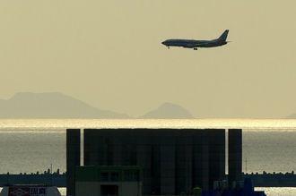 南西航空のときの機体モデルのようですね。今日は過ごしやすい天気でした