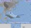 熱帯低気圧と台風22号の進路予想図(10日正午、気象庁HPから)